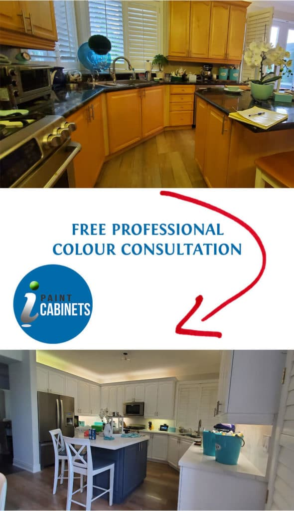 Free kitchen cabinets painting colour ideas consultation