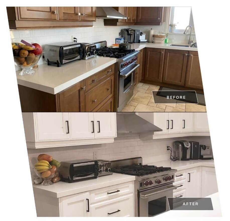 Old Cabinets Refinishing Contractor Vaughan