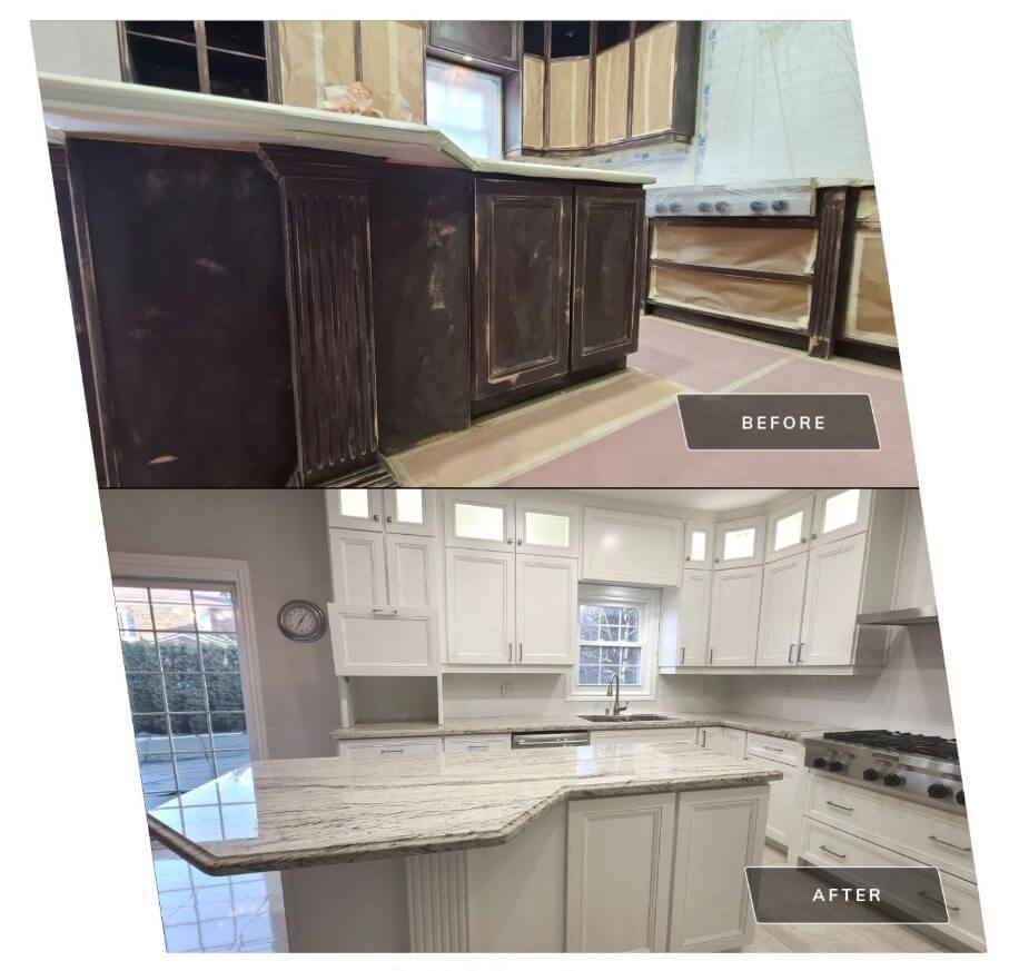 Painting Your Kitchen Cabinets Doors Newmarket